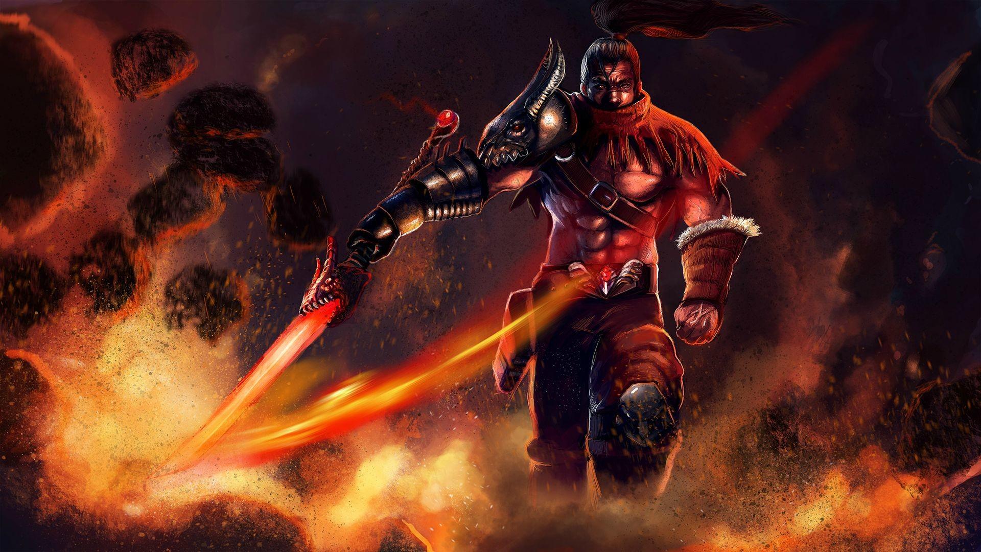 Dragonslayer Yasuo-fanart