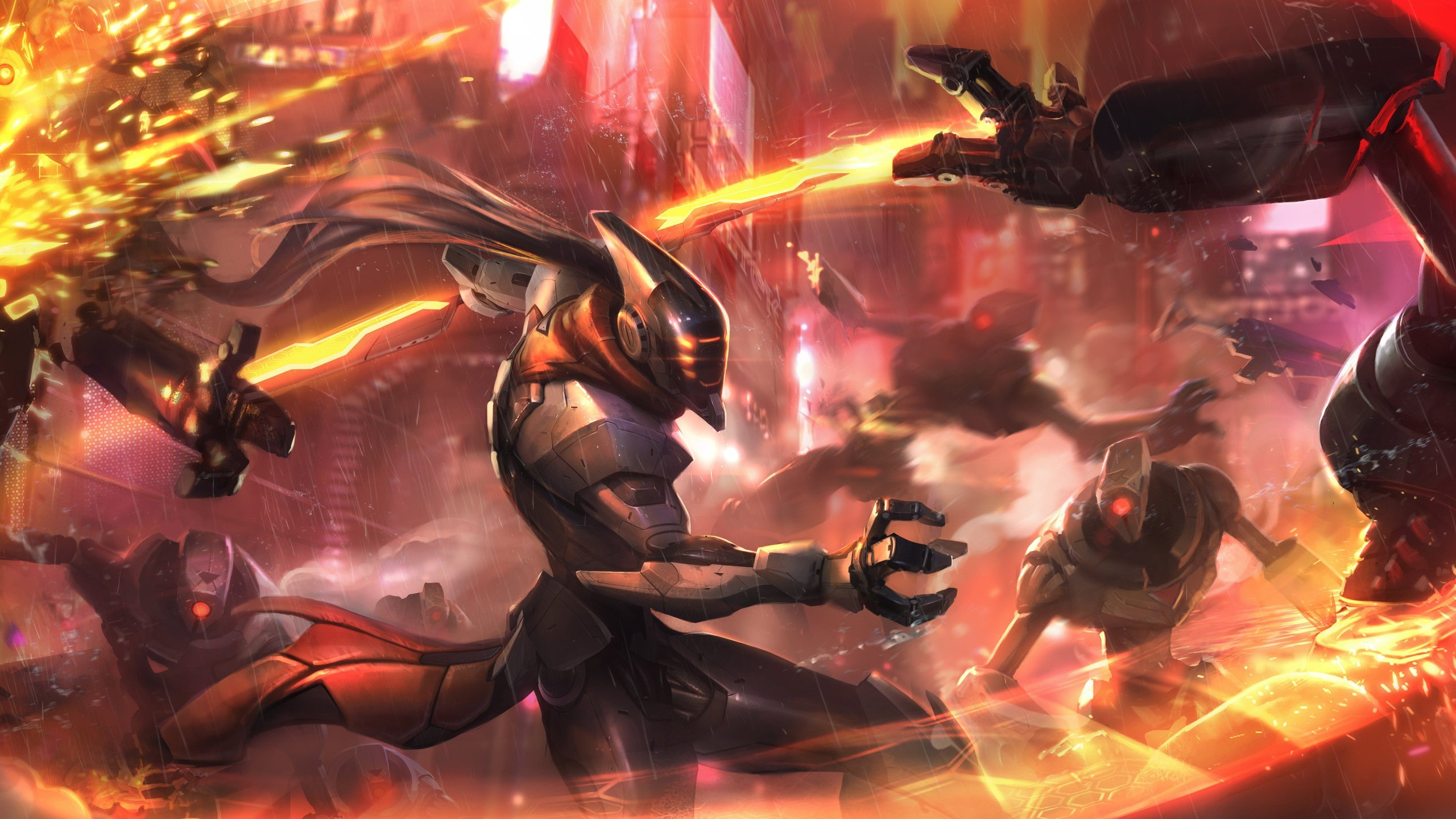 Download PROJECT Fiora Wallpaper Skin Art Fighting 1920×1080   Places to  Visit   Pinterest   Skin art, Cosplay and Anime