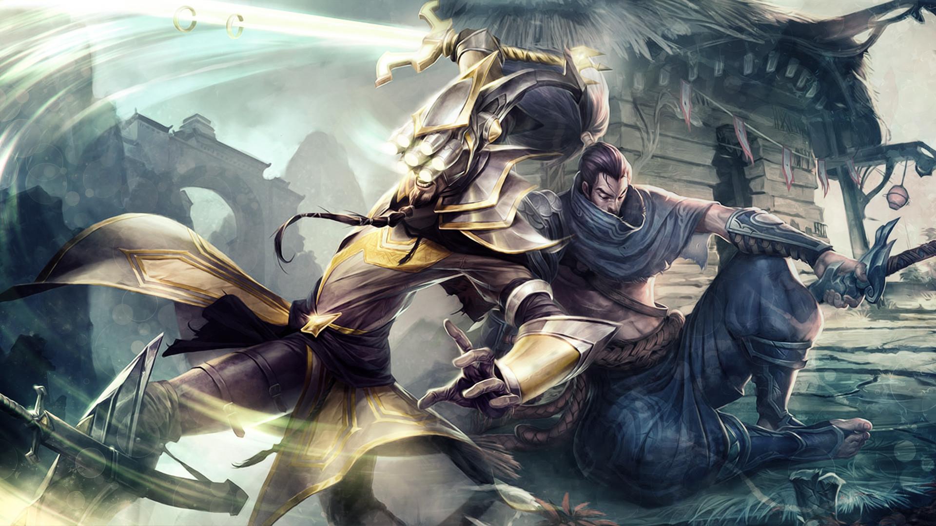 League of legends yasuo clipart