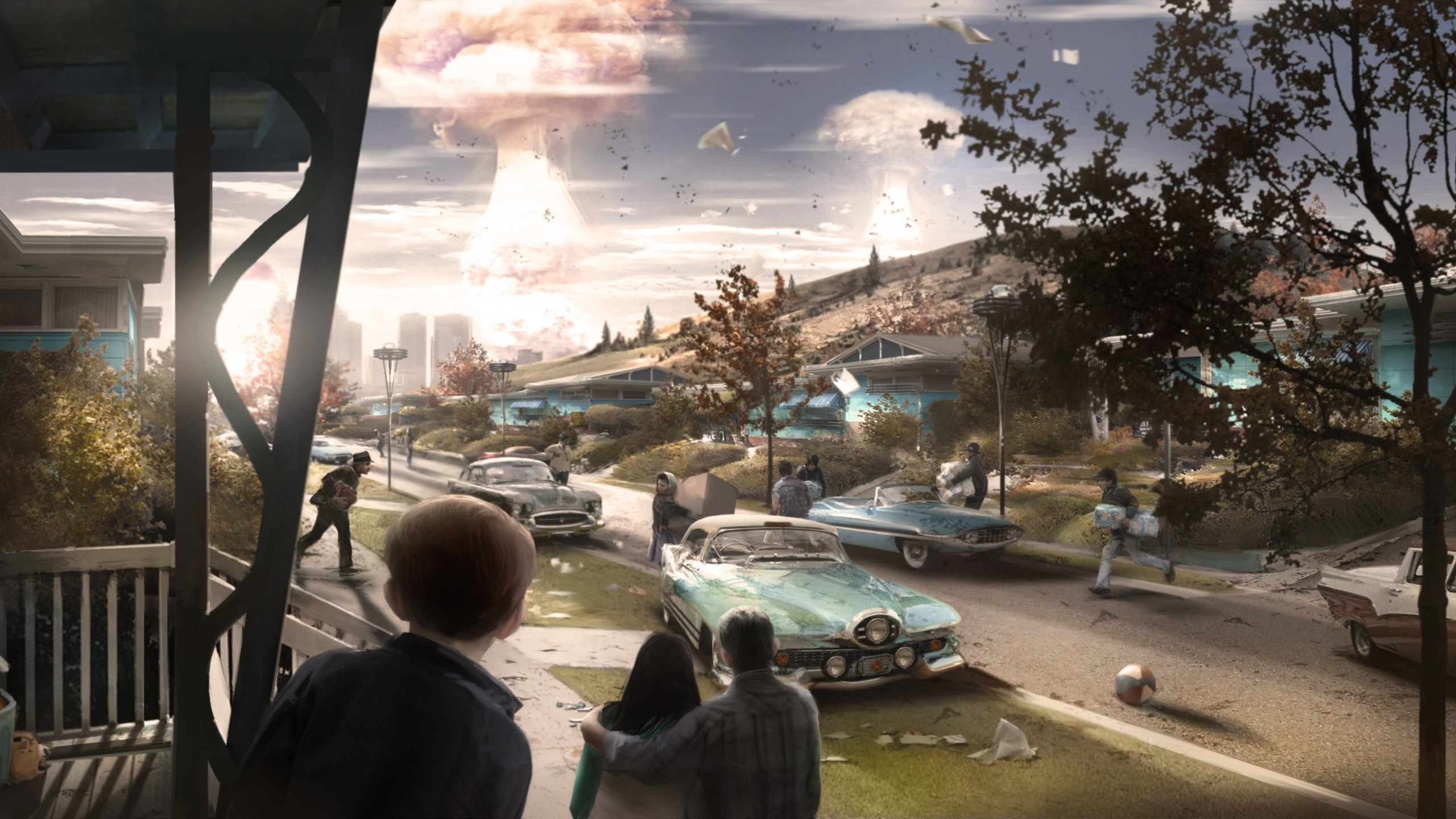 Fallout 4, Bethesda Softworks, Apocalyptic, Video Games Wallpapers HD /  Desktop and Mobile Backgrounds