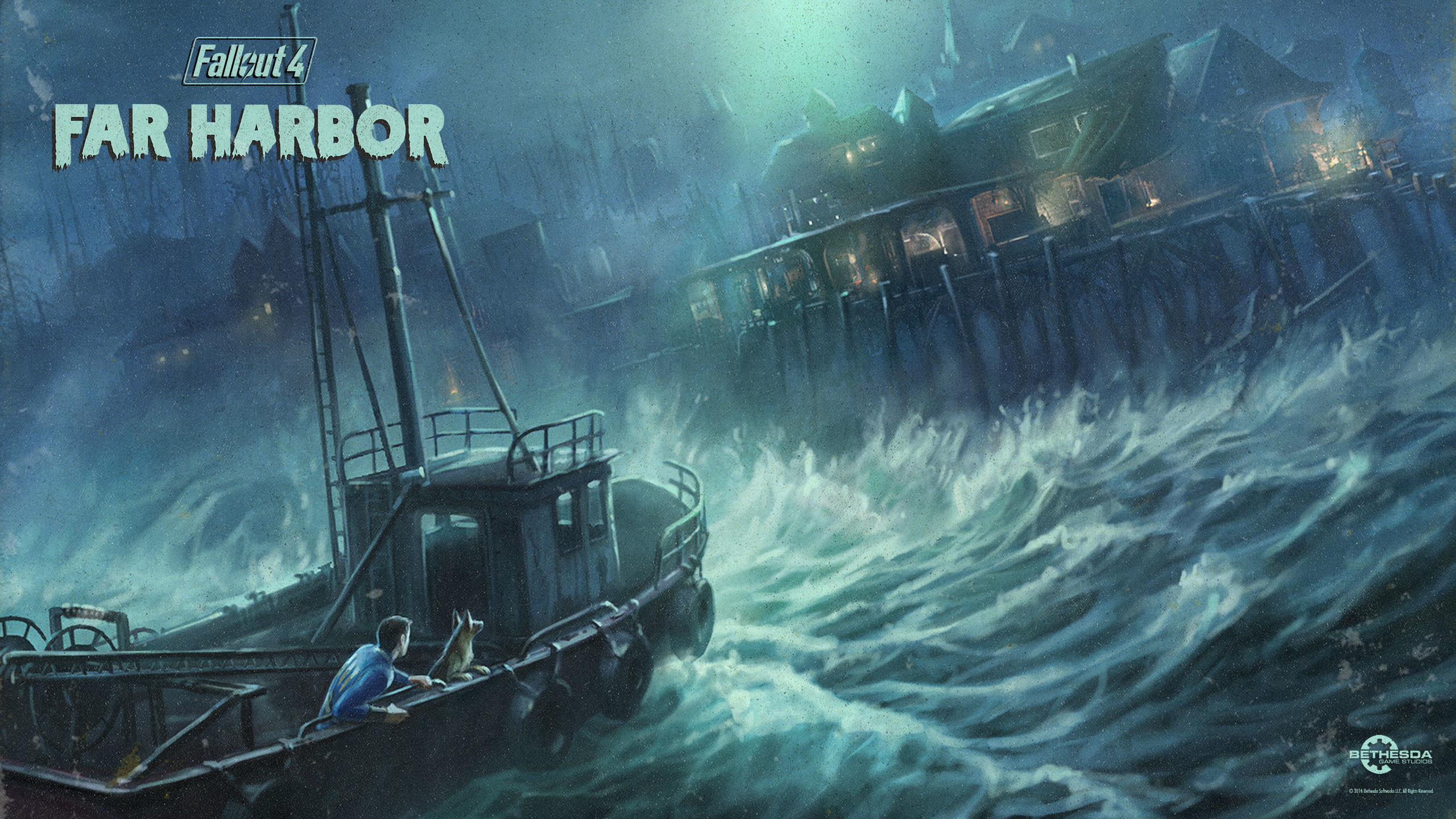 Fallout 4: Far Harbor Wallpaper Download Original (2560×1440)