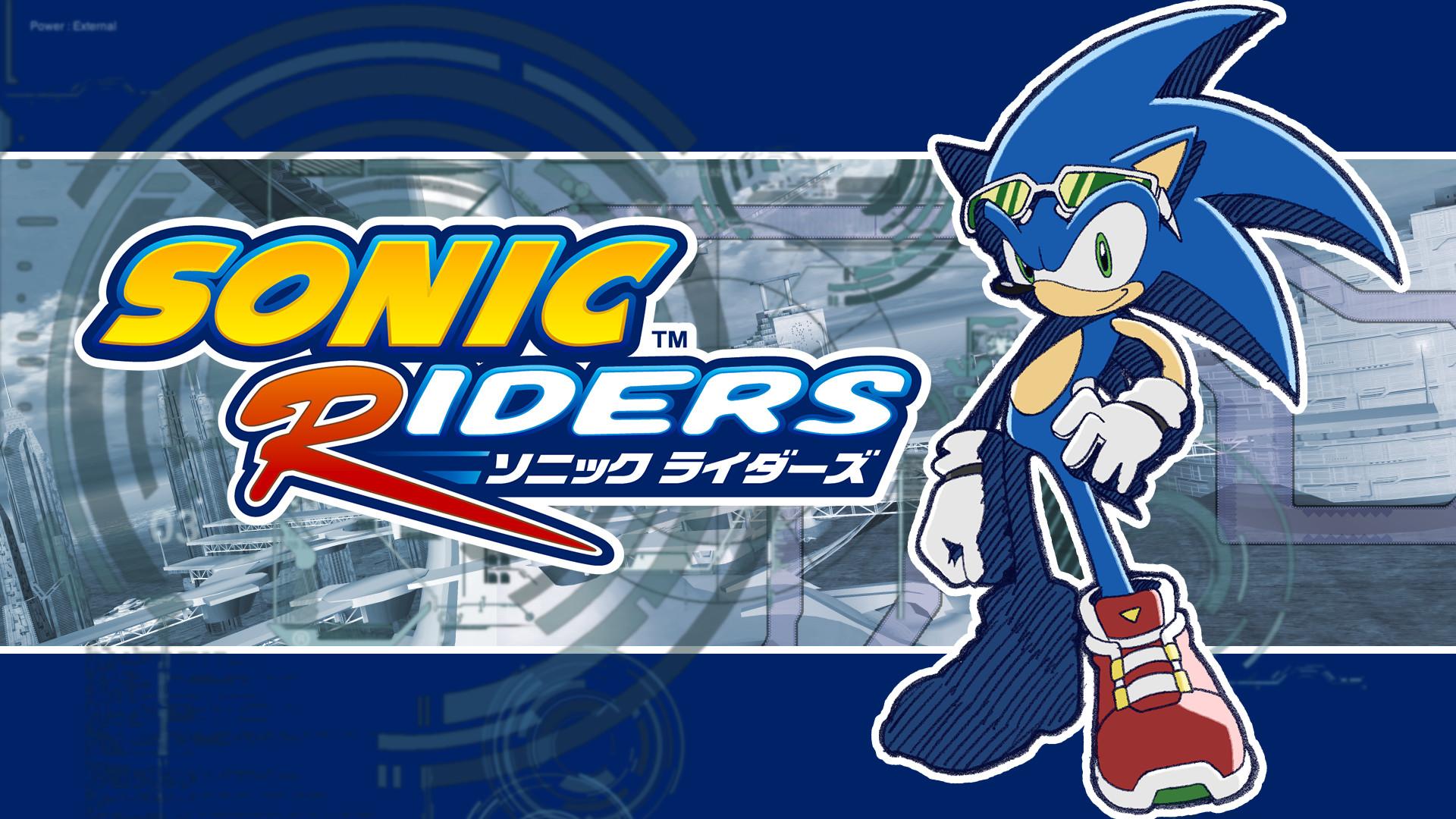 … supersonicsponge Sonic Riders Fan Made Wallpaper – Sonic by  supersonicsponge