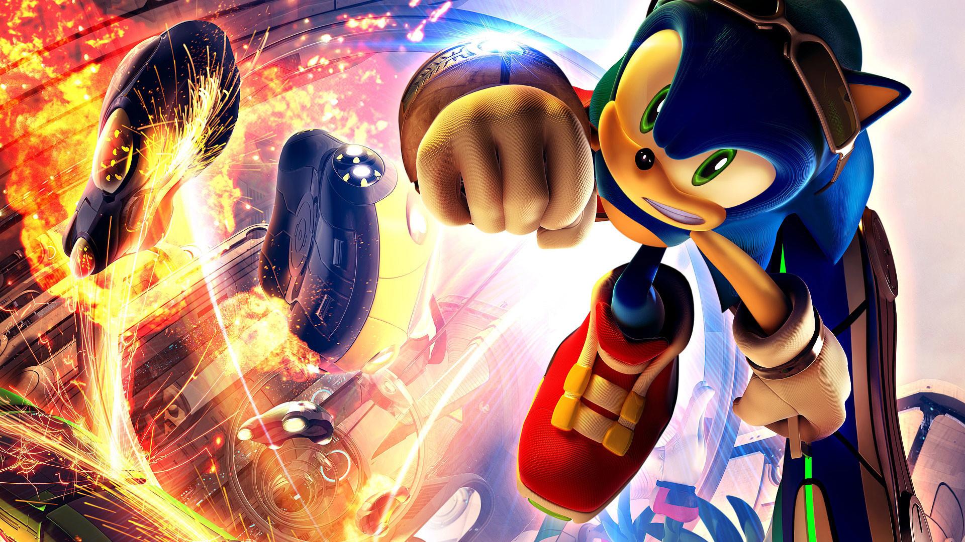 Sonic Riders 1080p Game