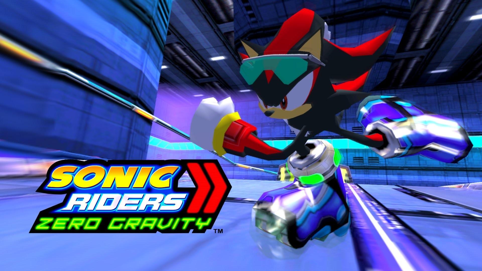 Sonic Riders Zero Gravity Wallpapers