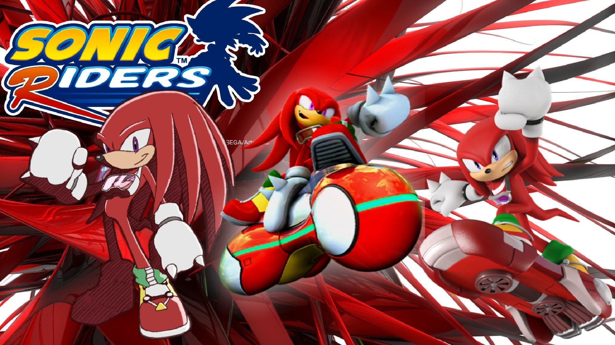Sonic Riders Knuckles by ShadowTheHedgehog24 Sonic Riders Knuckles by  ShadowTheHedgehog24