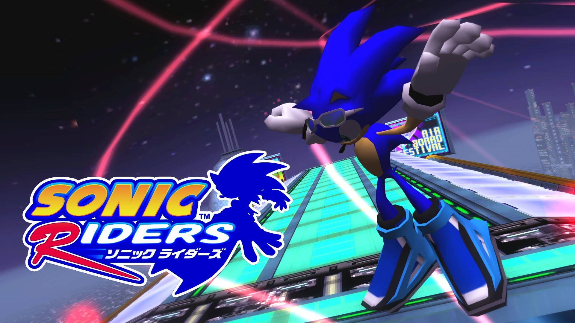 Sonic Riders – Night Chase – Sonic [REAL Full HD, Widescreen] 60 FPS