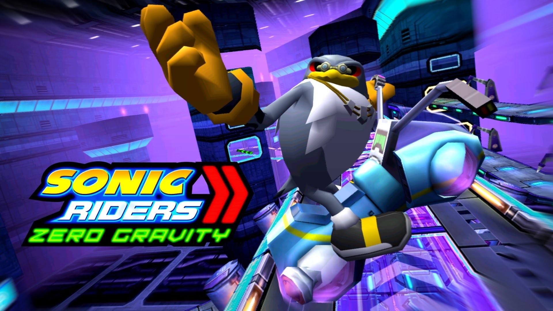 Sonic Riders Zero Gravity – MeteorTech Premises – Storm 4K 60 FPS – YouTube