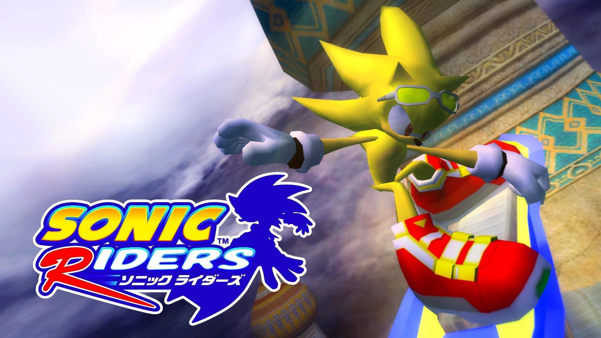 Sonic Riders – Babylon Garden – Super Sonic (No HUD, no Blur) [REAL Full  HD, Widescreen] – YouTube