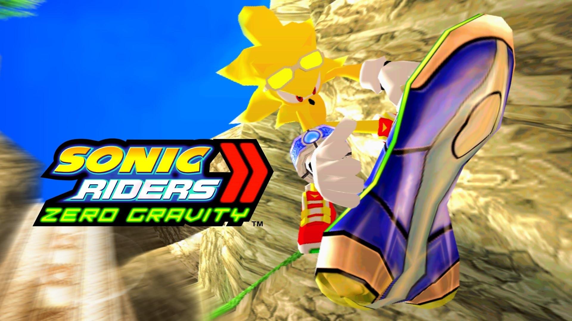 Sonic Riders Zero Gravity – Gigan Rocks – Super Sonic 4K 60 FPS – YouTube