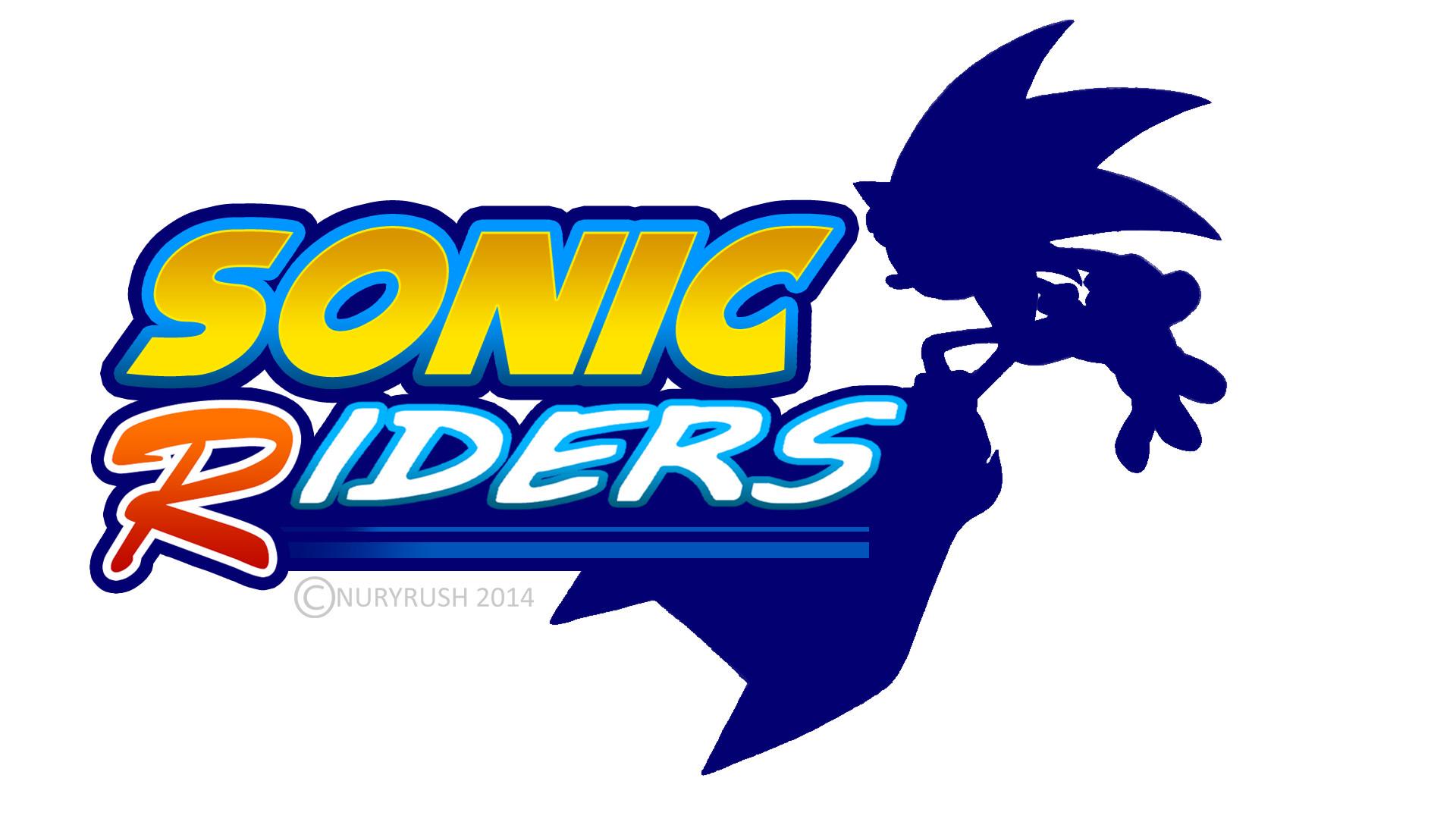 Sonic Riders Logo Remade by NuryRush Sonic Riders Logo Remade by NuryRush