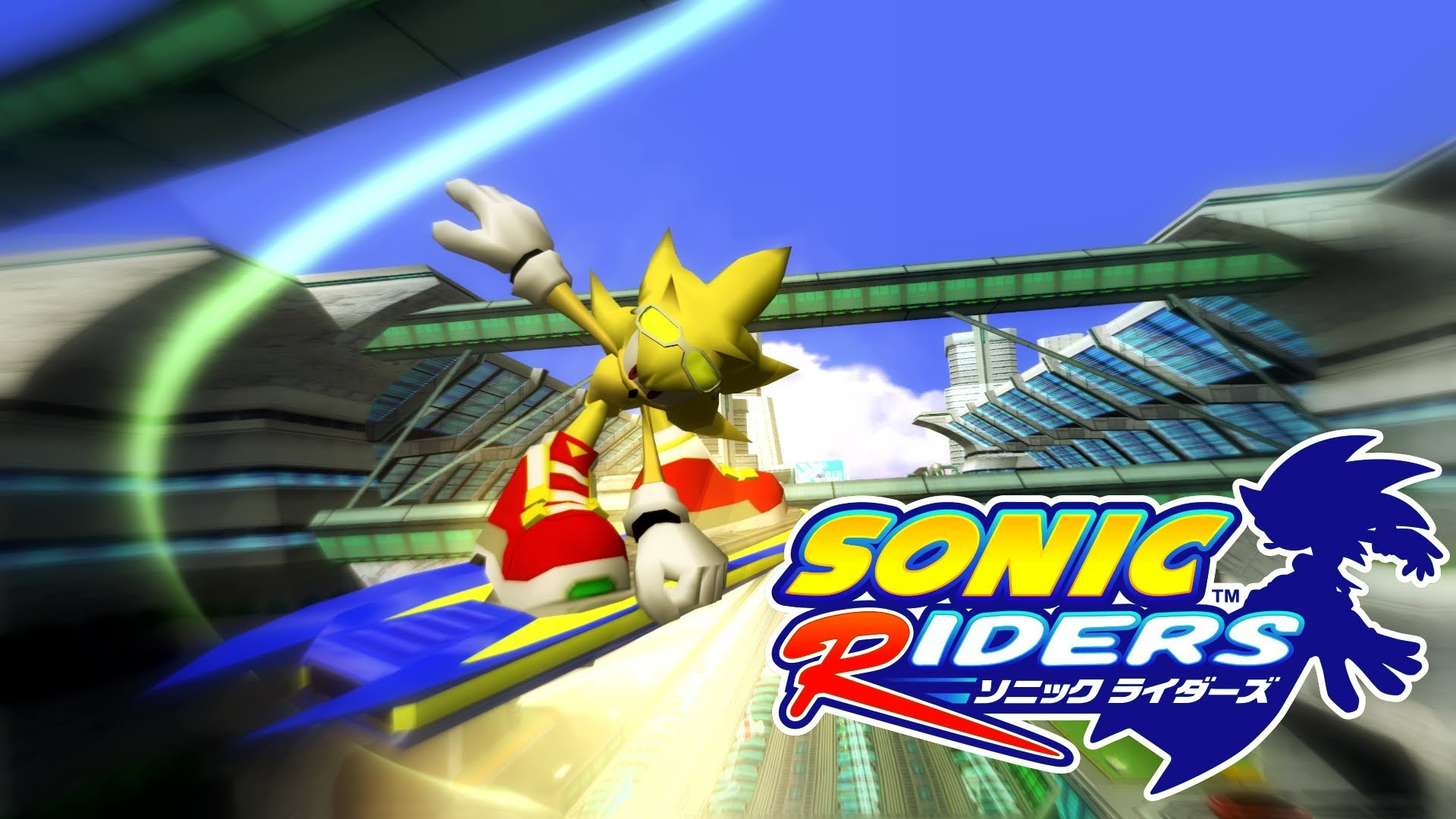Sonic Riders – Metal City – Super Sonic [REAL Full HD, Widescreen] 60 FPS –  YouTube