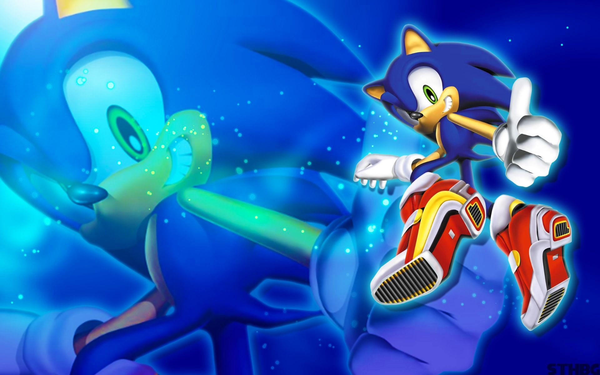 Sonic Adventure 2 Sonic Wallpaper by SonicTheHedgehogBG on DeviantArt