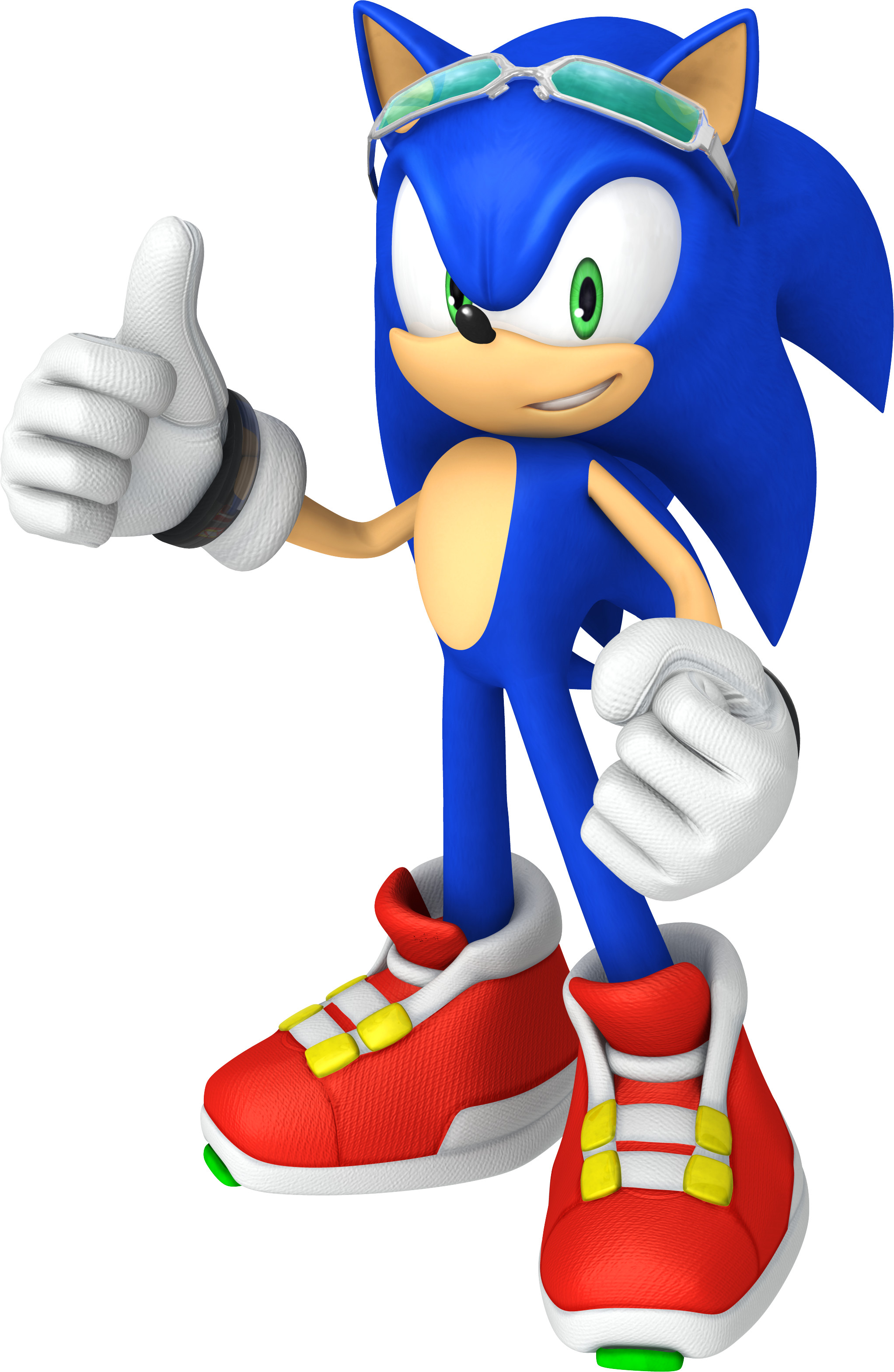 3D Sonic the Hedgehog 'Free Rider' thumbs …