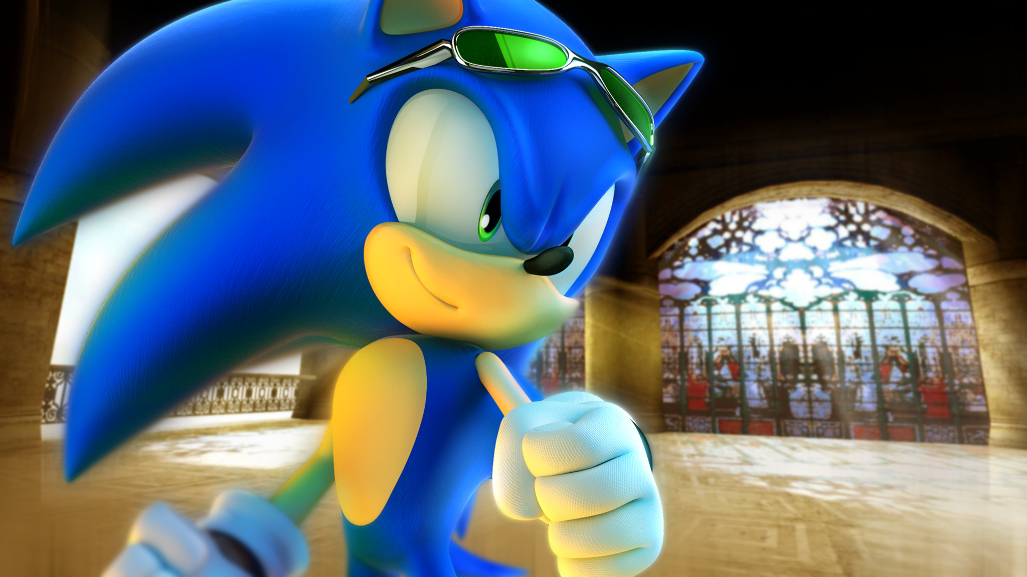 … RealSonicSpeed Sonic in a Digital Dimension by RealSonicSpeed