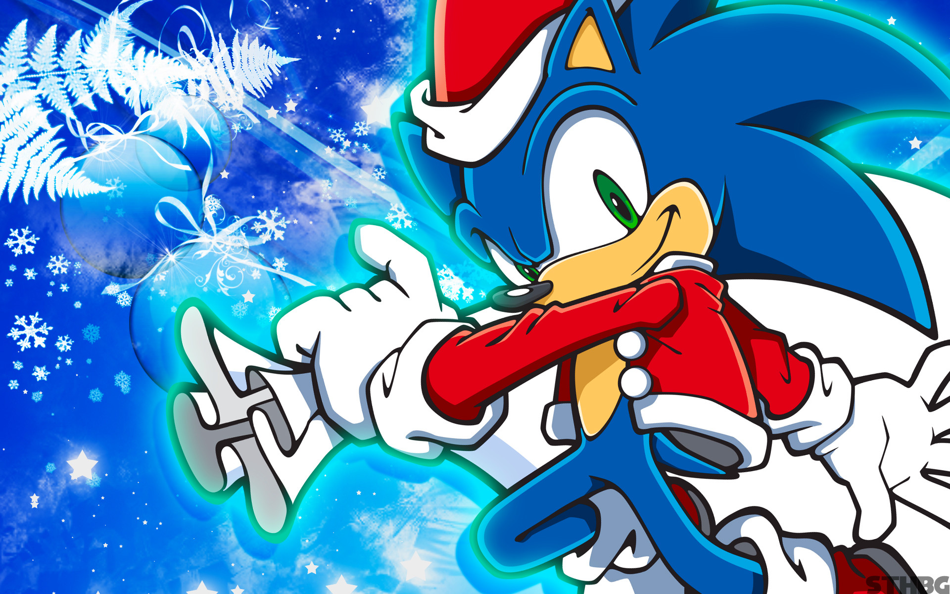 Christmas Sonic Wallpaper by SonicTheHedgehogBG Christmas Sonic Wallpaper  by SonicTheHedgehogBG