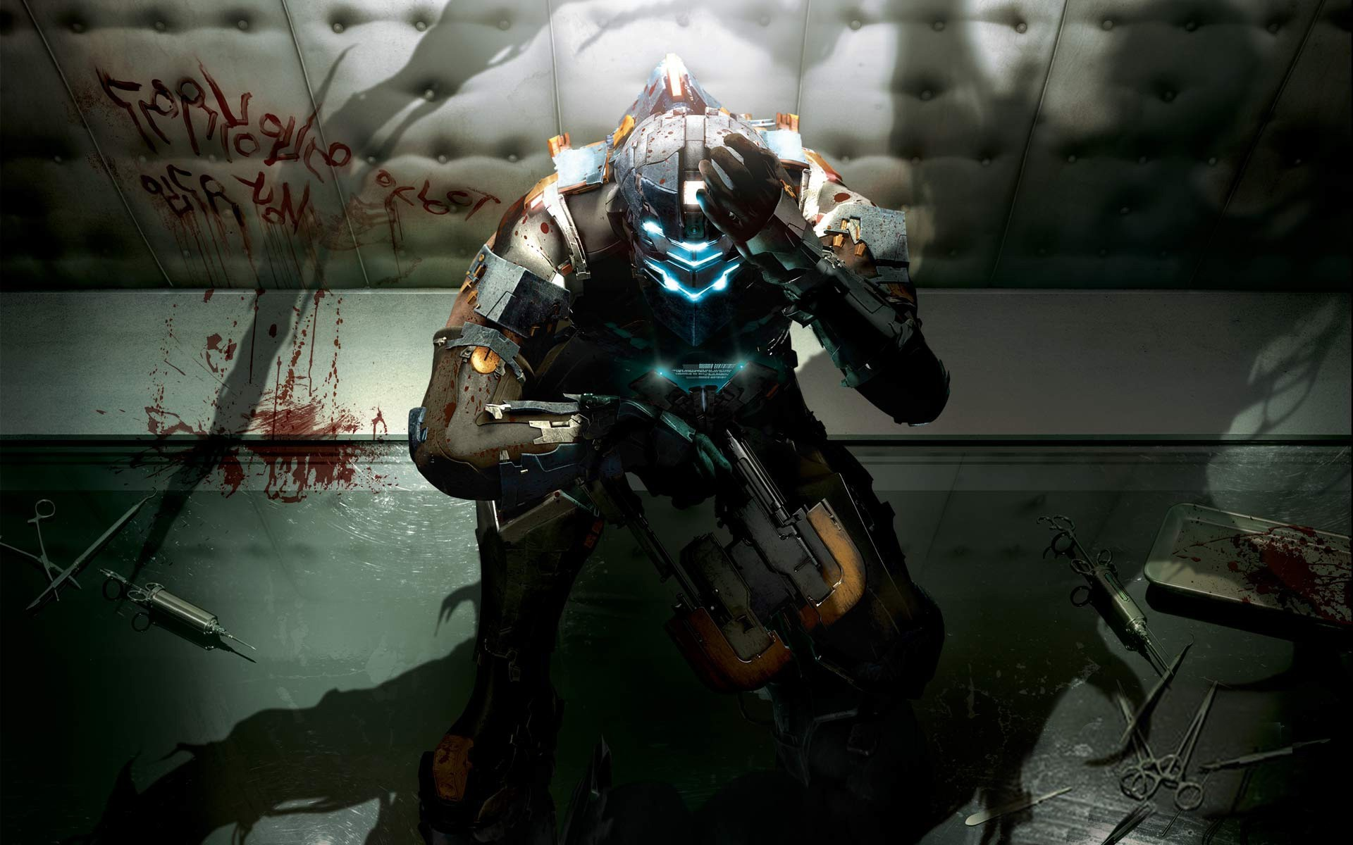 deadspacehdwallpaper Airborne Gamer The Elite Gaming Blog   HD Wallpapers    Pinterest   Dead space, Hd wallpaper and Wallpaper