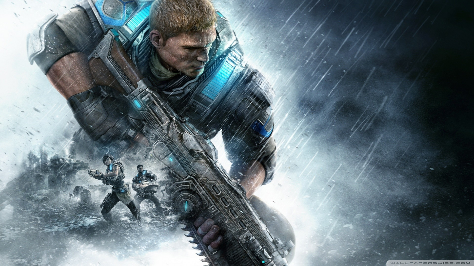 Gears Of War 4 Xbox One HD Wide Wallpaper for Widescreen