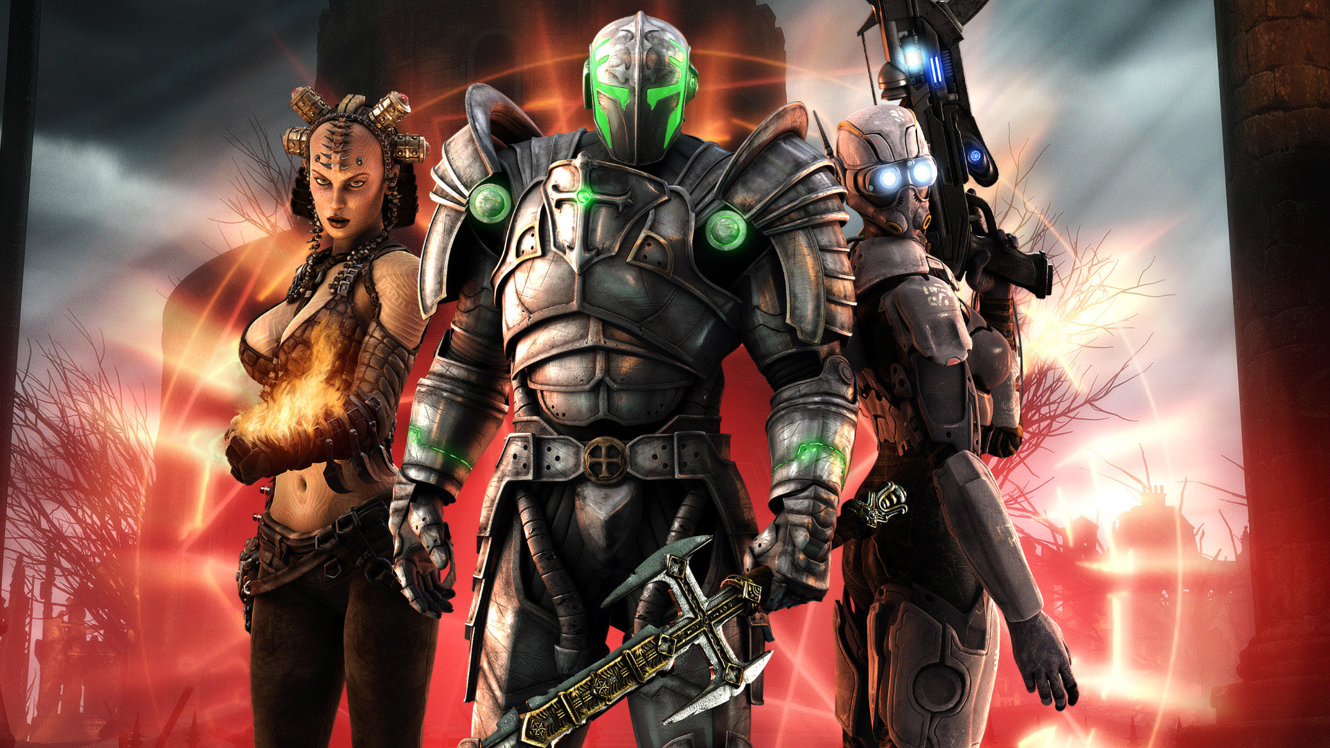 Hellgate London – This HD Hellgate London wallpaper is based on Hellgate:  London Game.