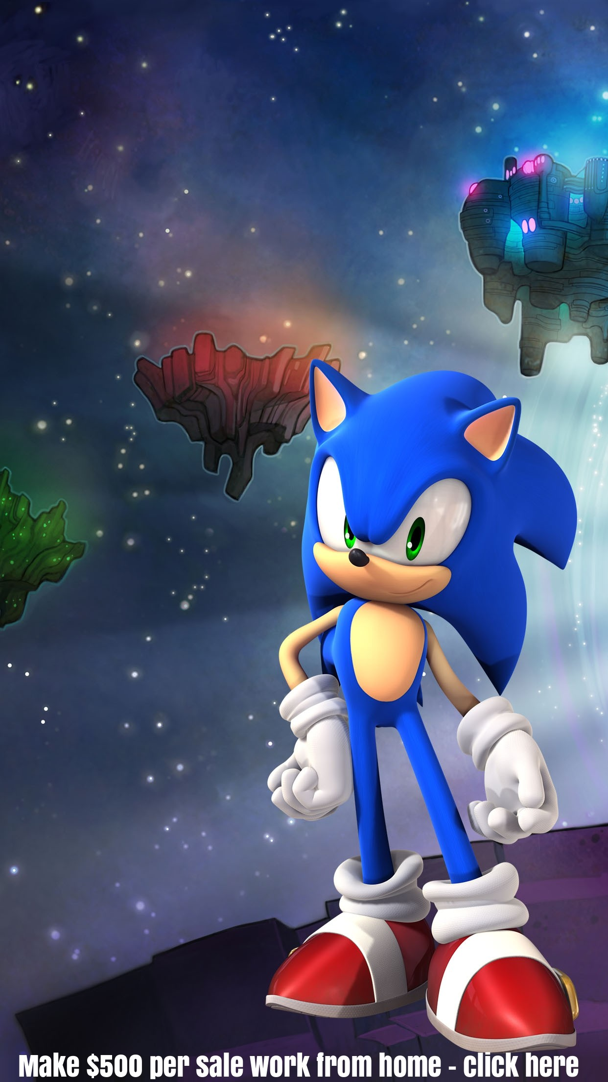 Sonic the Hedgehog iphone wallpaper background