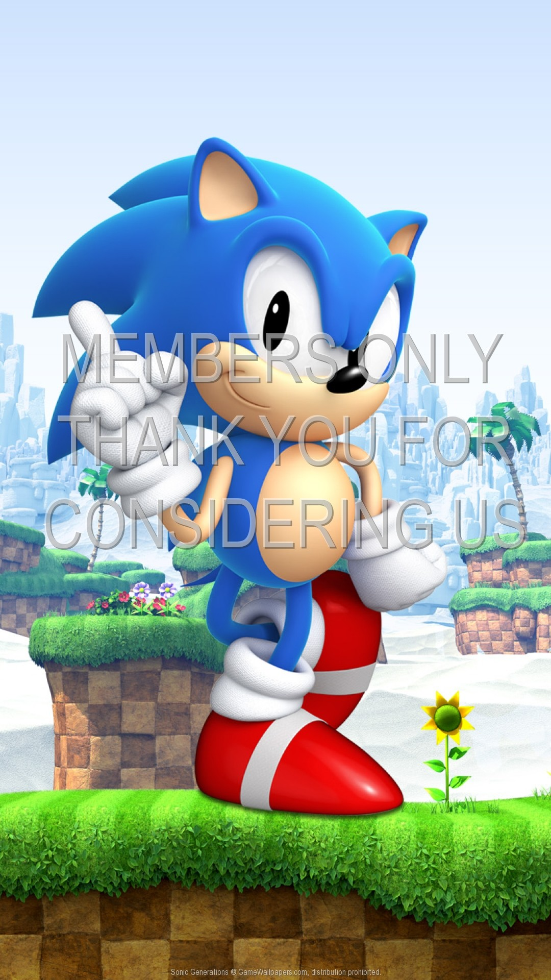 Sonic Generations 1920×1080 Mobile wallpaper or background 01
