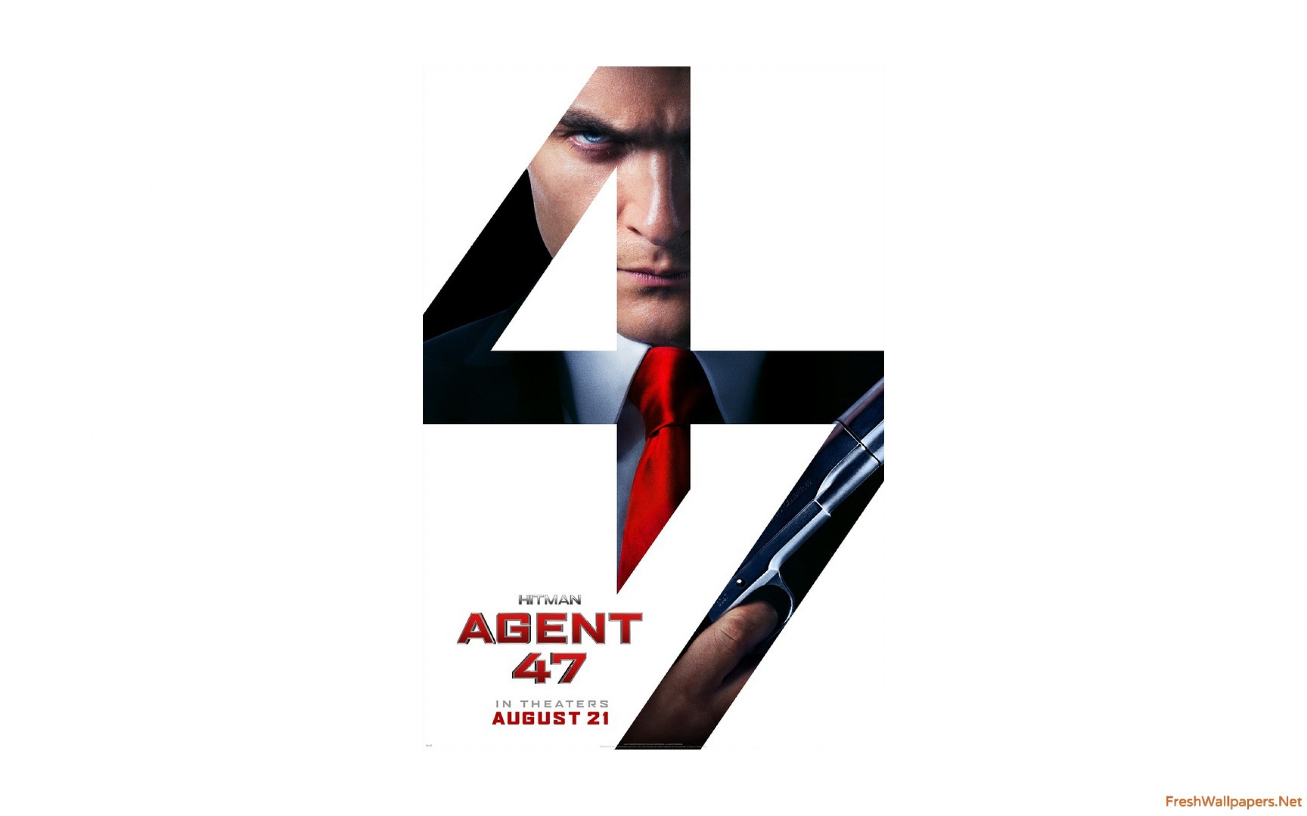 Hitman Agent Movie Poster HD wallpapers Freshwallpapers 2560×1600