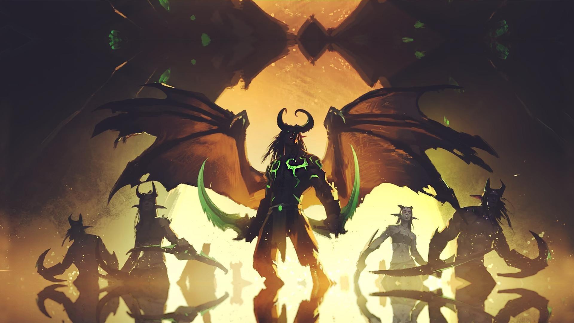 Demon Hunter, World of Warcraft, Demon Hunter WoW Wallpapers HD / Desktop  and Mobile Backgrounds