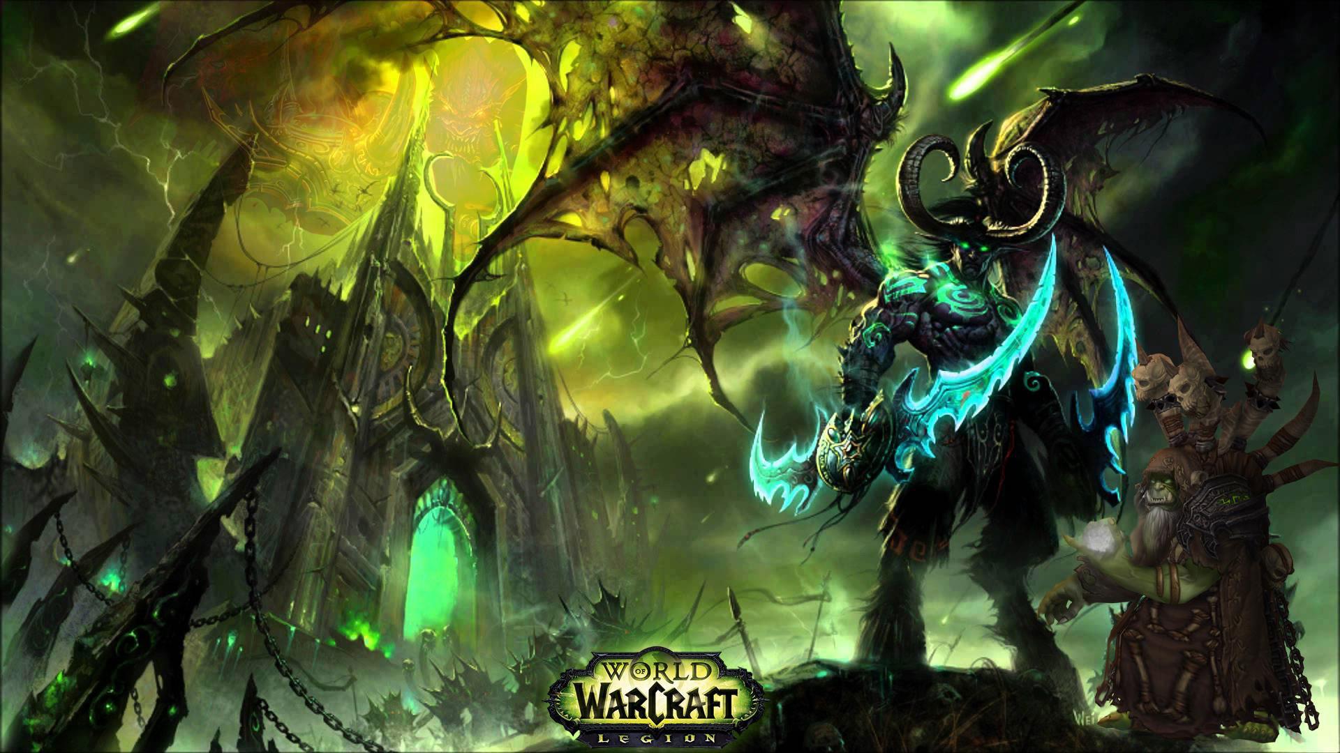 World of Warcraft Legion 4K Wallpaper …