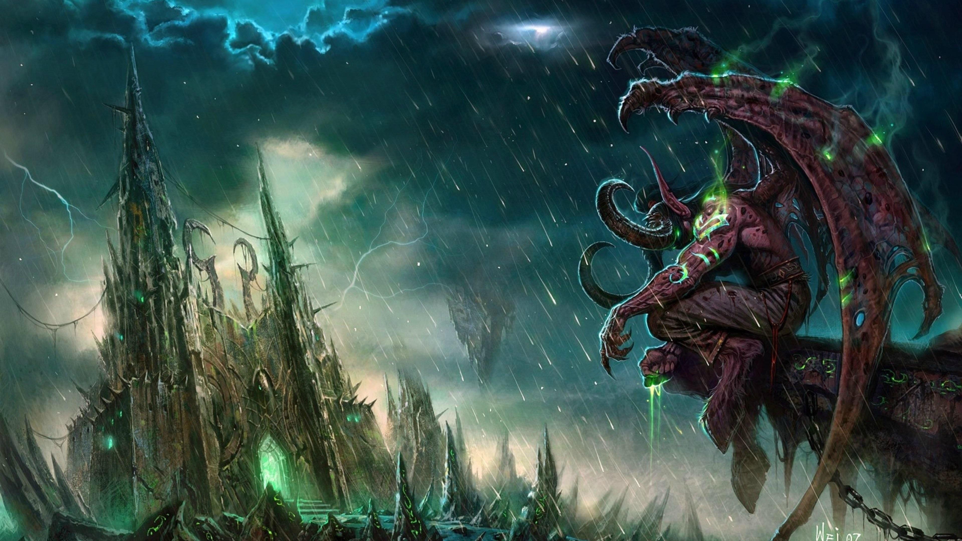 World of Warcraft: Legion Beta – Demon Hunter full starting zone.  [SPOILERS] – YouTube