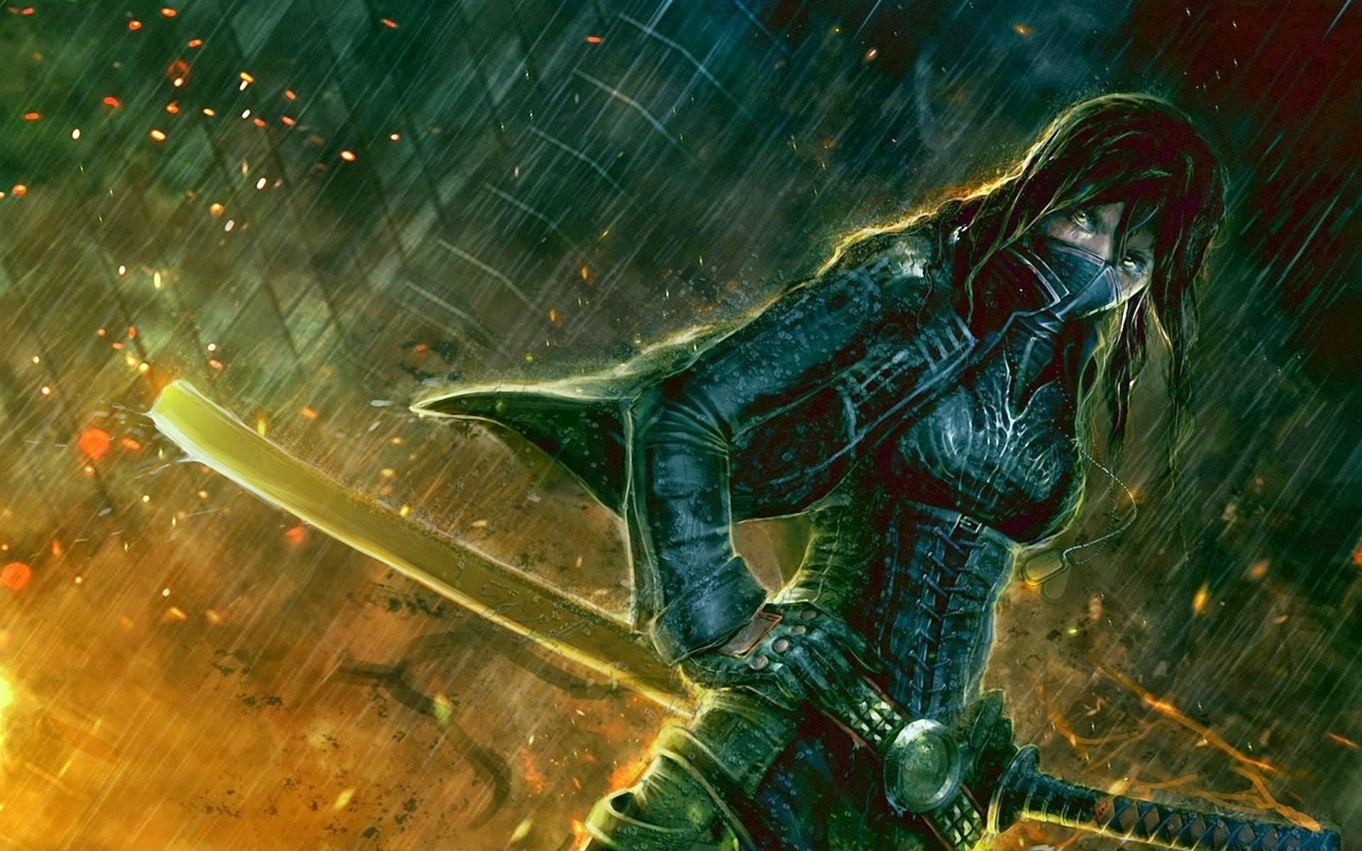 fantasy Art, Demoness, Demon Hunter, World Of Warcraft Wallpaper HD