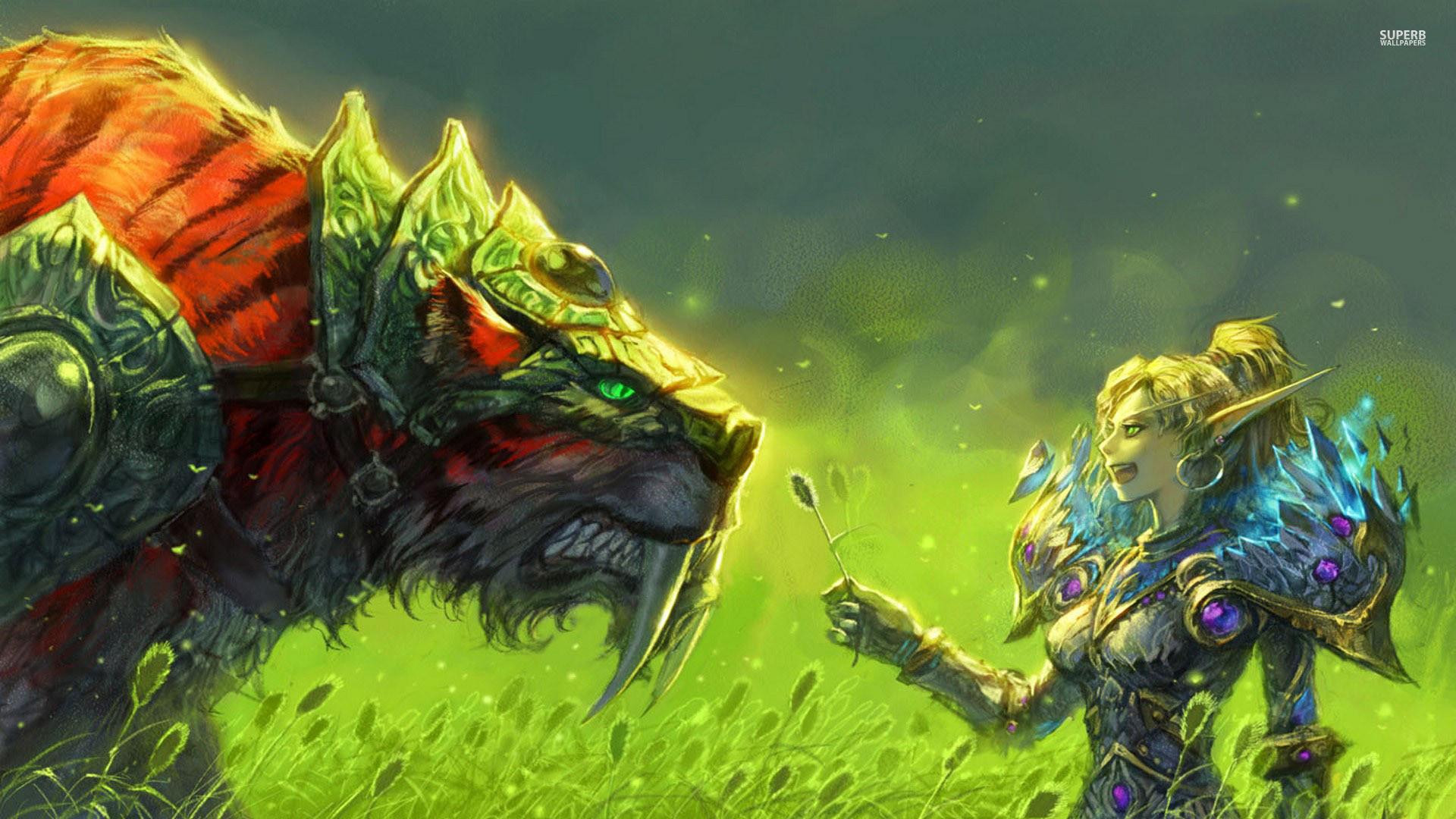 World Of Warcraft Hunter Images ~ Sdeerwallpaper