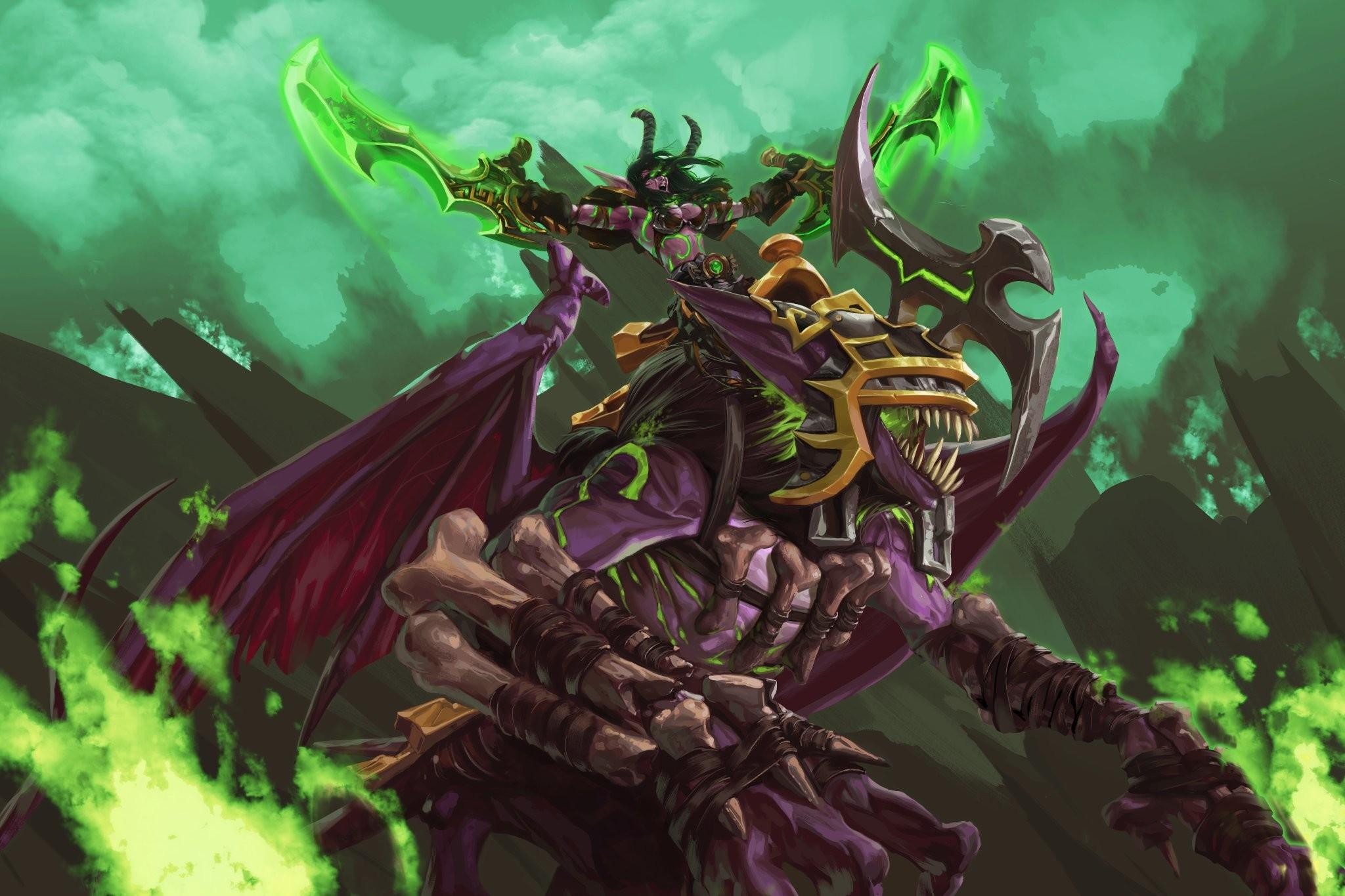 General World of Warcraft Demon Hunter World of Warcraft Legion  Night Elves