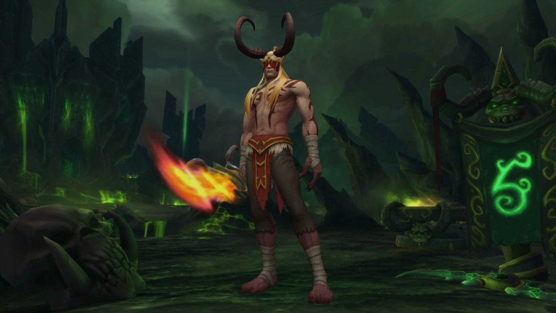 Demon Hunter Character Creation – World of Warcraft expansion – Legion