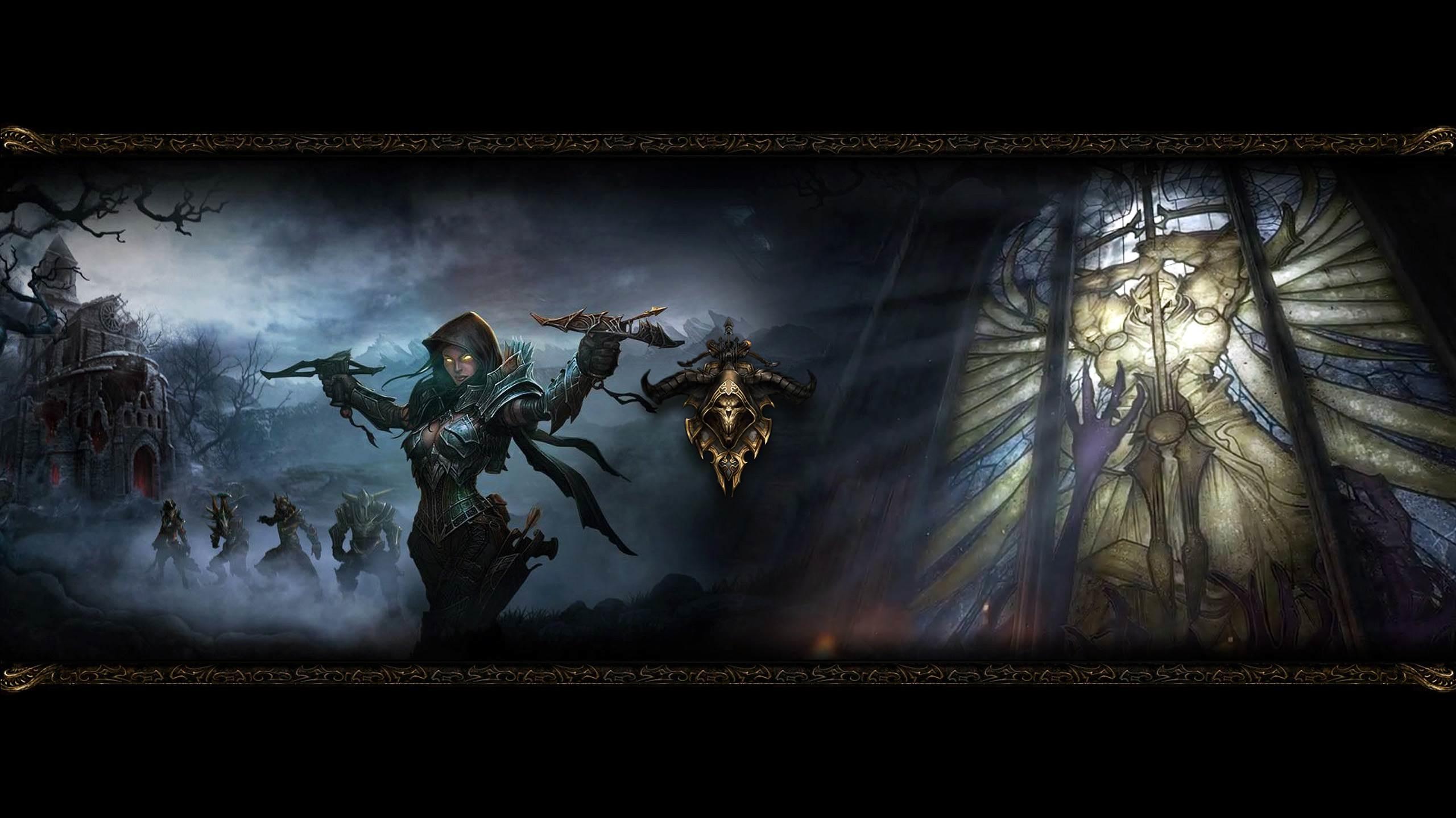 Demon Hunter Diablo Wallpaper HD For Desktop and Mobile 1920×1080 Demon  Hunter Wallpapers  