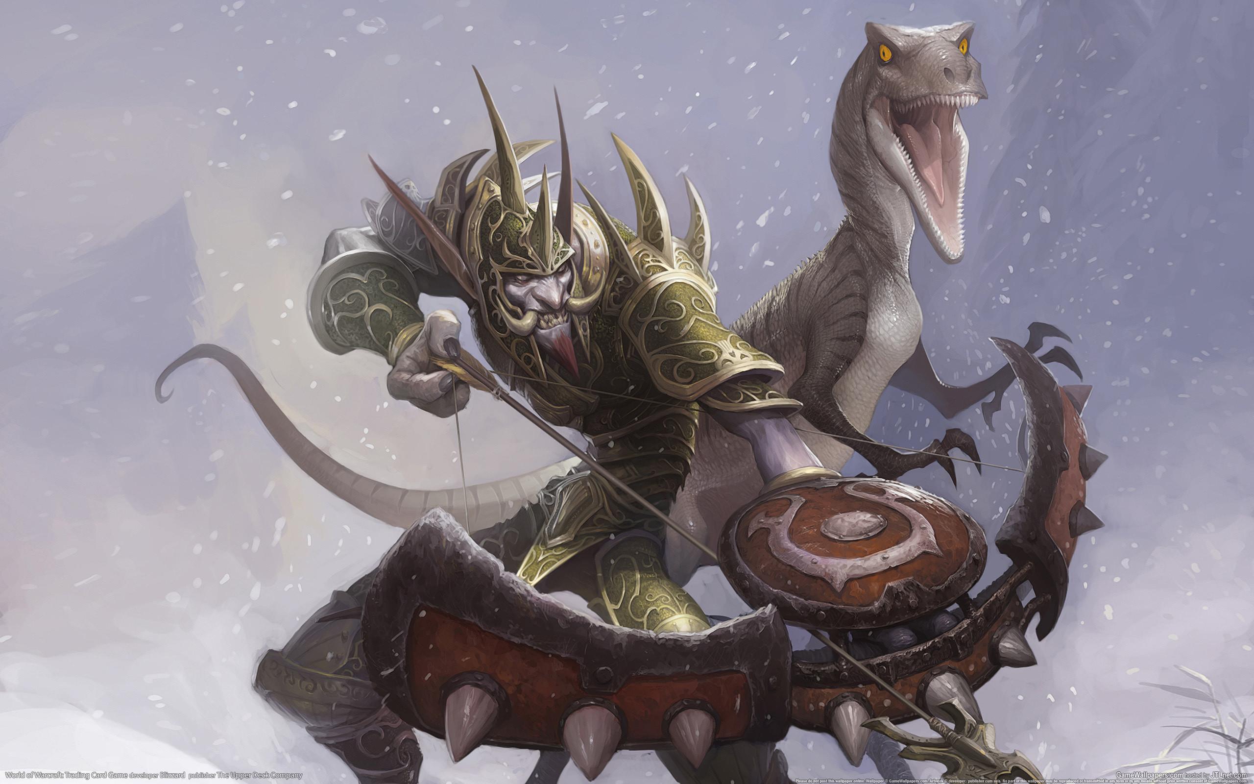 Wallpapers World Of Warcraft Wow Troll Hunter Bow Ammo Pet Rage .