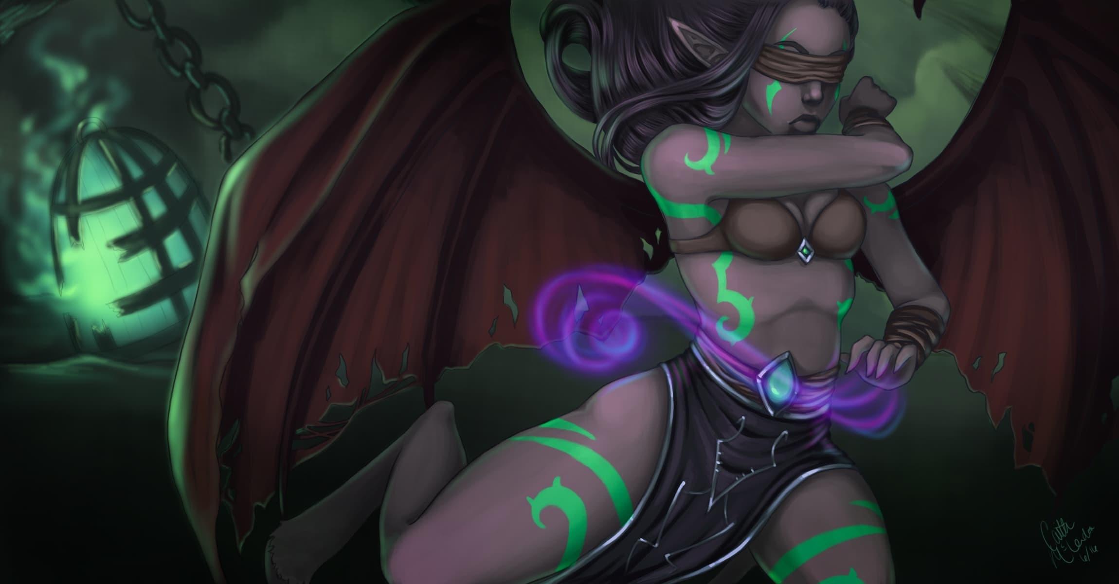 Demon Wallpaper World of Warcraft Legion Wallpapers Wallpapers)