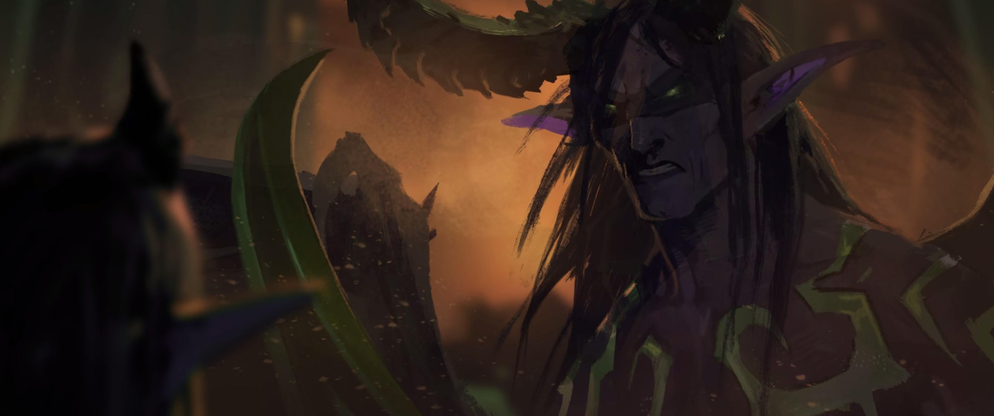 Demon Hunter, World of Warcraft, Blizzard Entertainment, Illidan Stormrage  Wallpapers HD / Desktop and Mobile Backgrounds