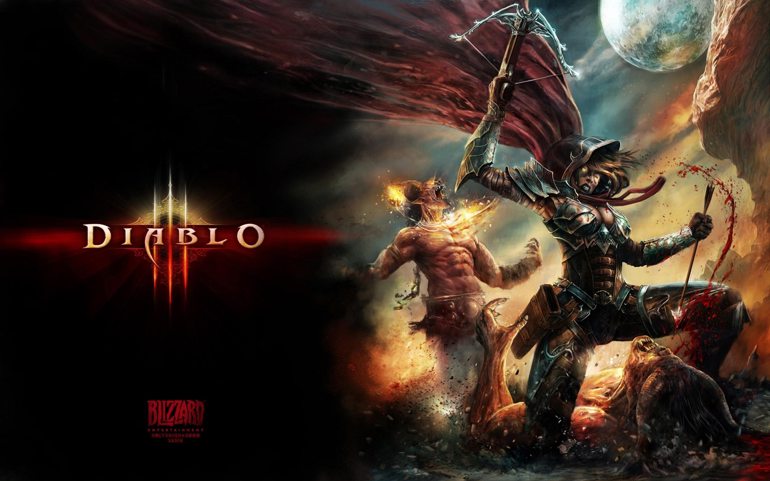 Wallpapers, Demon Hunter Diablo 3 Myspace Backgrounds, Demon Hunter .