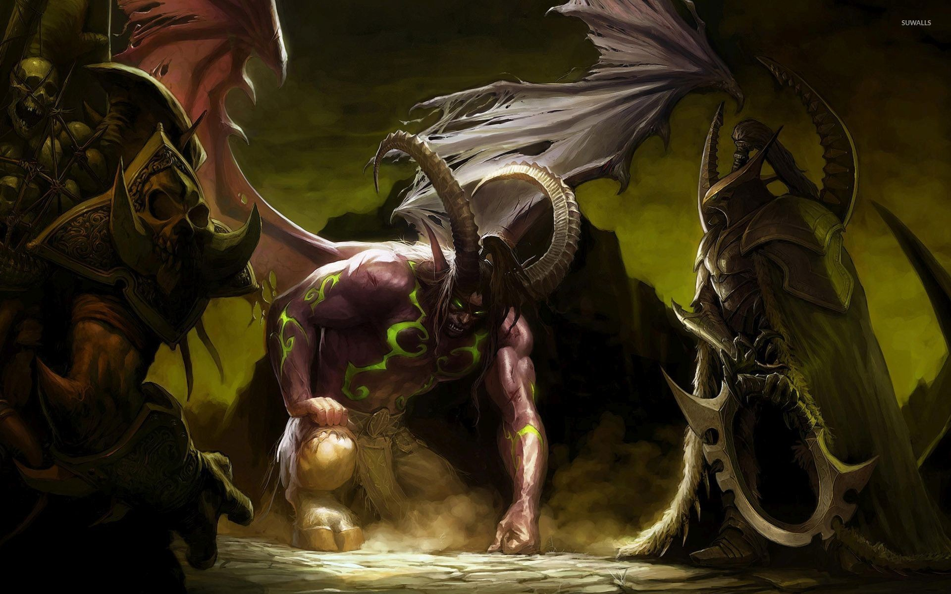 Fallen demon in World of Warcraft wallpaper jpg