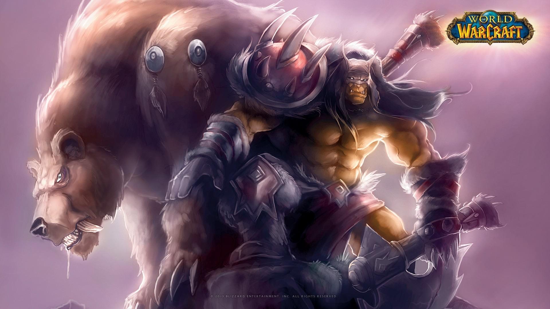Demon Hunter World of Warcraft Legion · Rexxar wallpaper