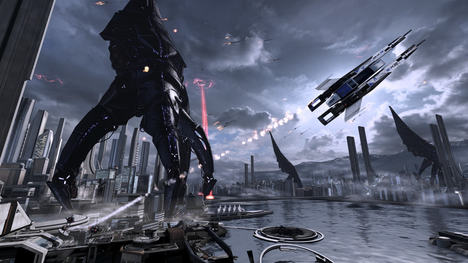 Mass Effect, Mass Effect 2, Mass Effect 3, Reapers Wallpapers HD / Desktop  and Mobile Backgrounds