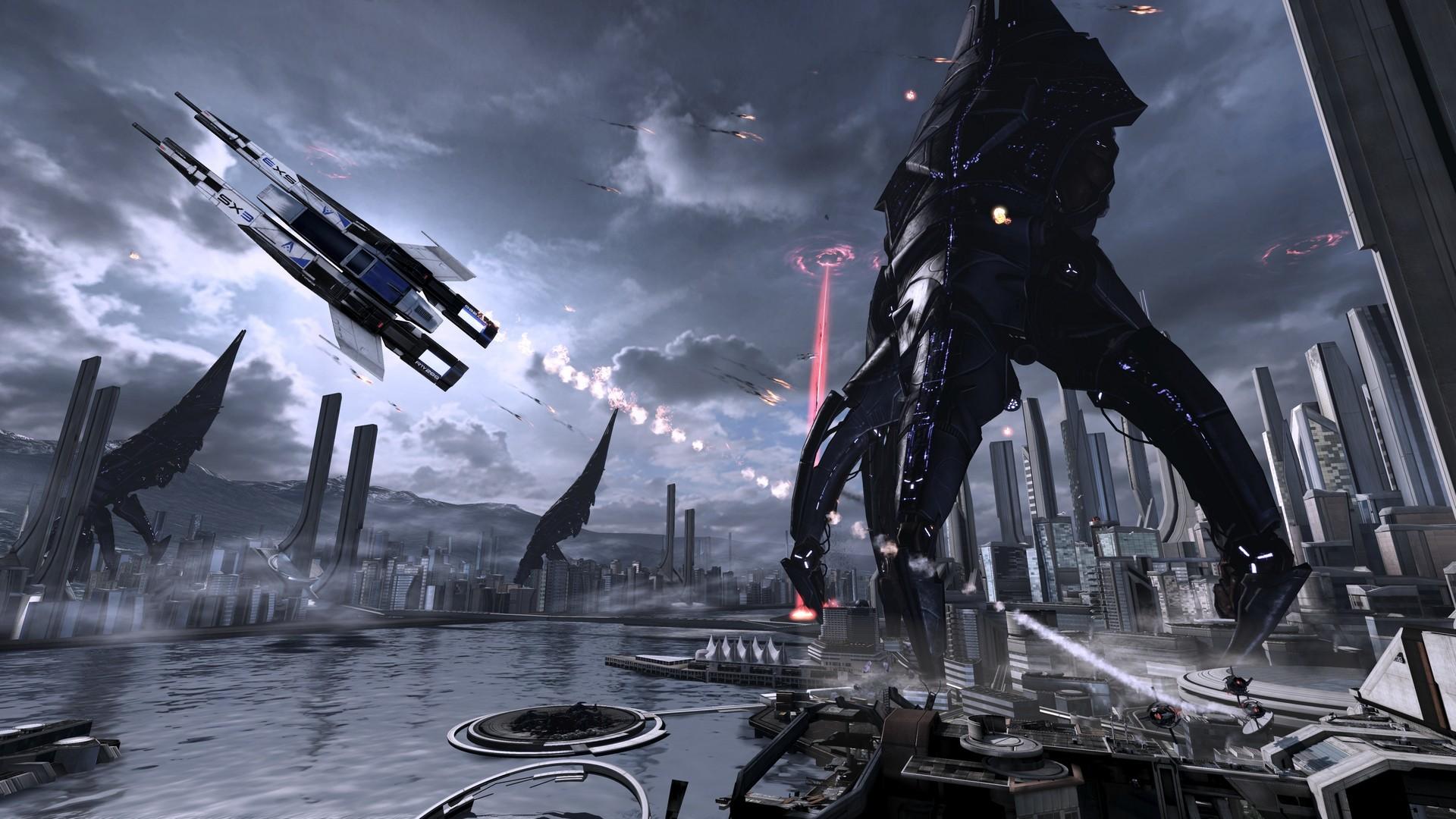 Mass Effect, N7, Galaxy, Sci-Fi, RPG, BioWare, N7