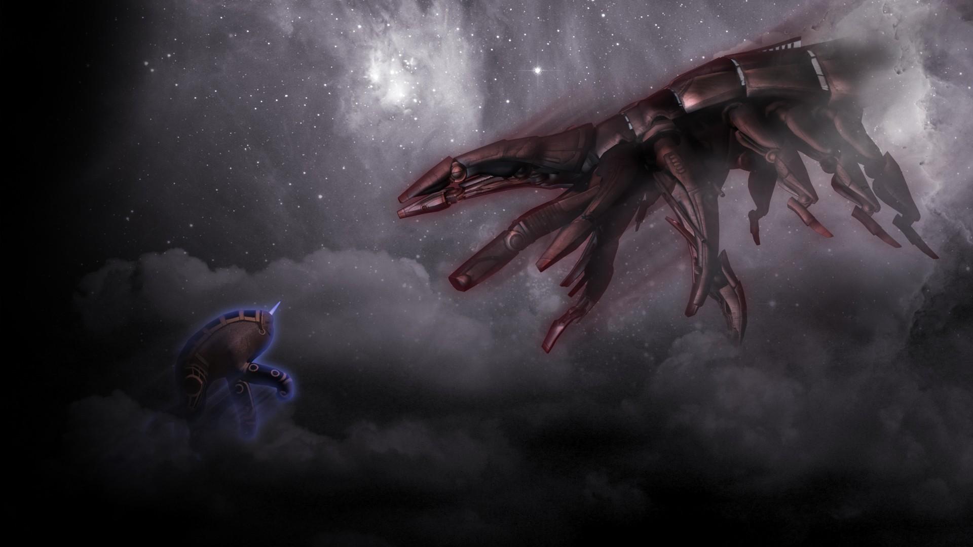Mass Effect 2 3 Reapers Hanar