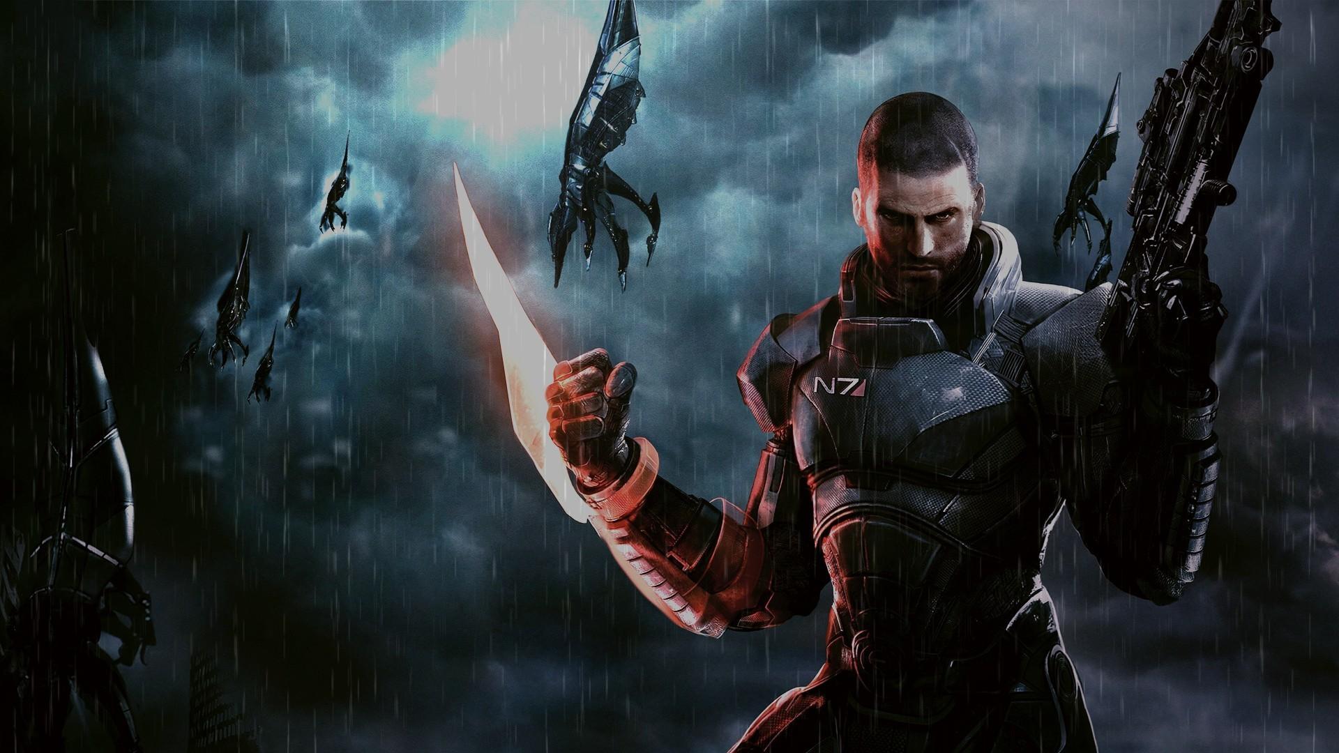 Rain Mass Effect Mass Effect 3 reapers wallpaper | | 198332 |  WallpaperUP