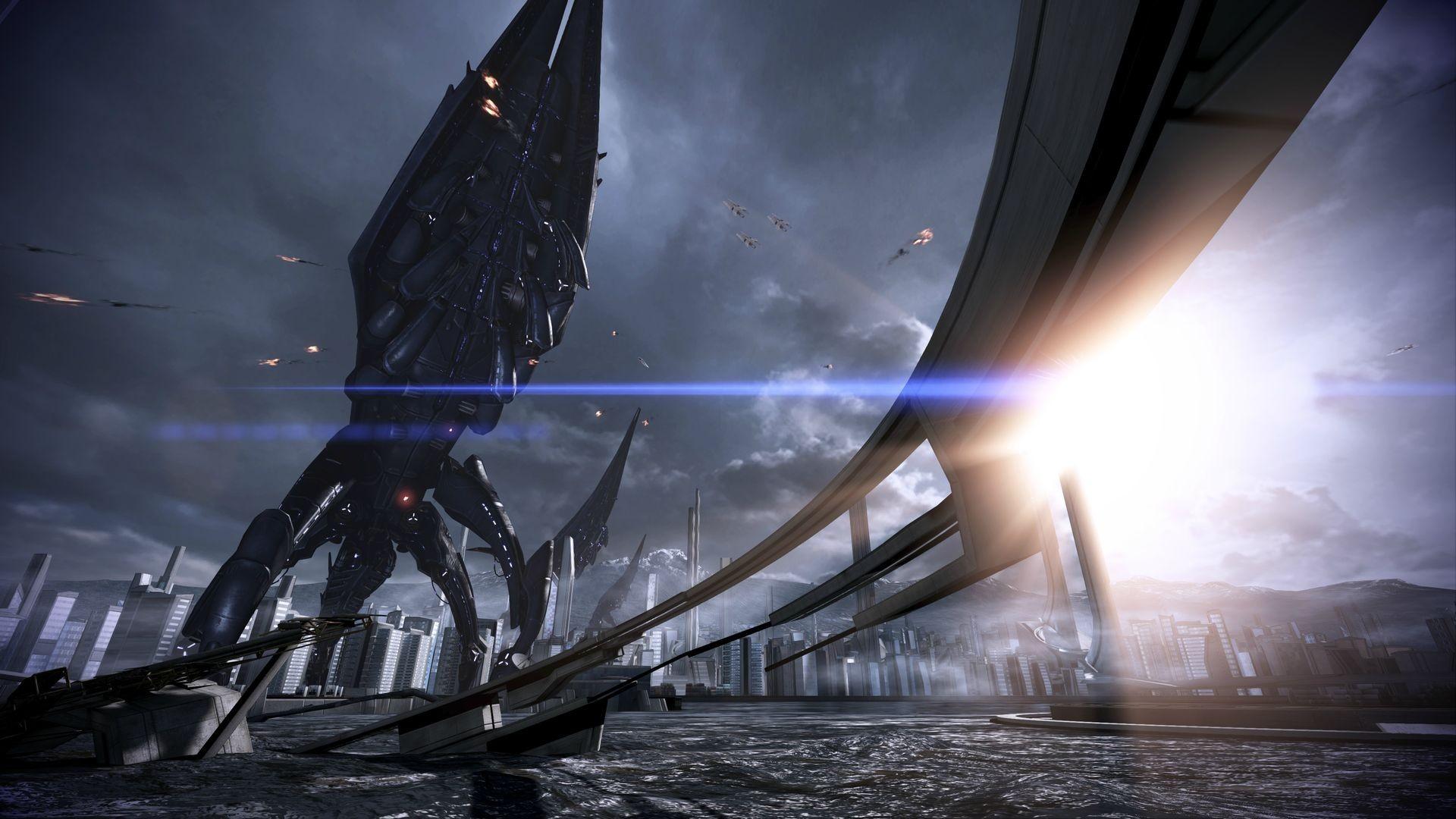 Reaper Destruction – Mass Effect 3 Concept Art | The Reaper Threat |  Pinterest | Video games and Universe