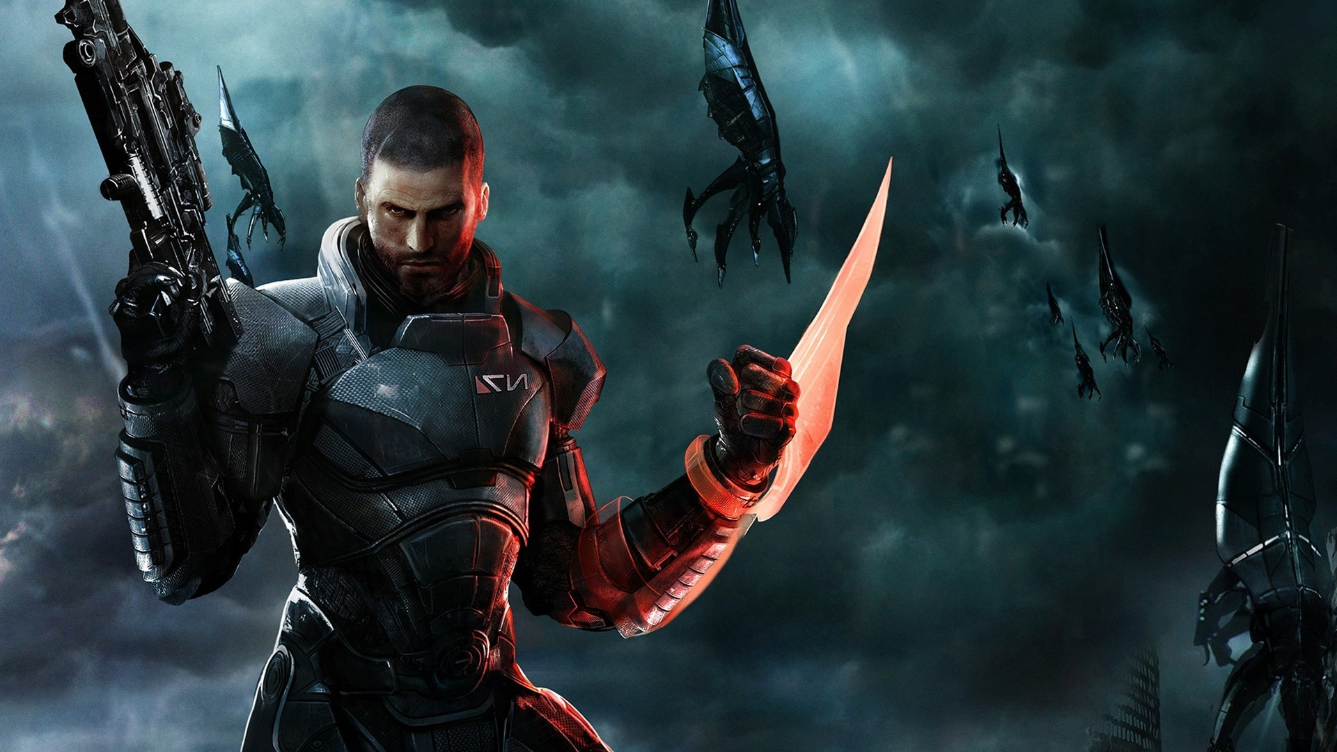 Mass Effect, Video Games, Commander Shepard, Reapers Wallpapers HD /  Desktop and Mobile Backgrounds