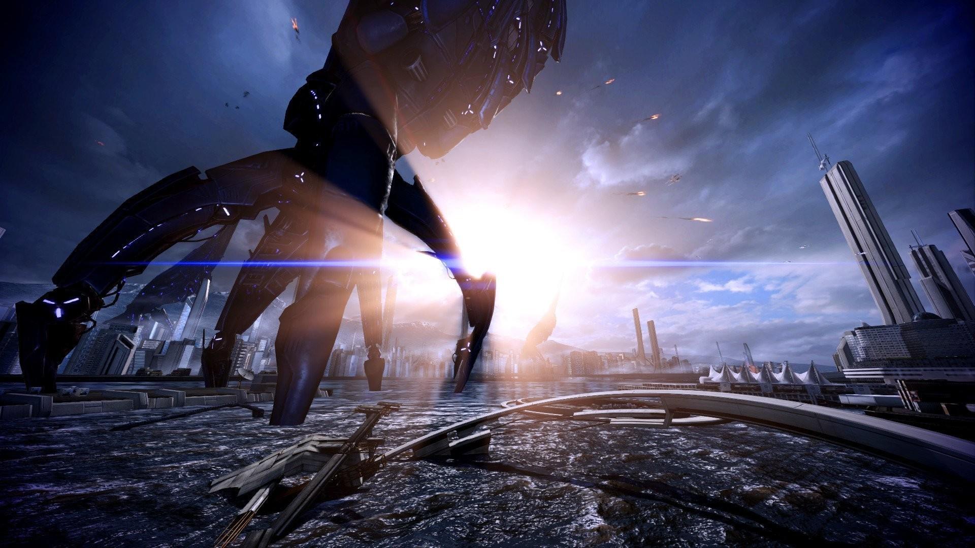 earth reaper mass effect 3 fan art
