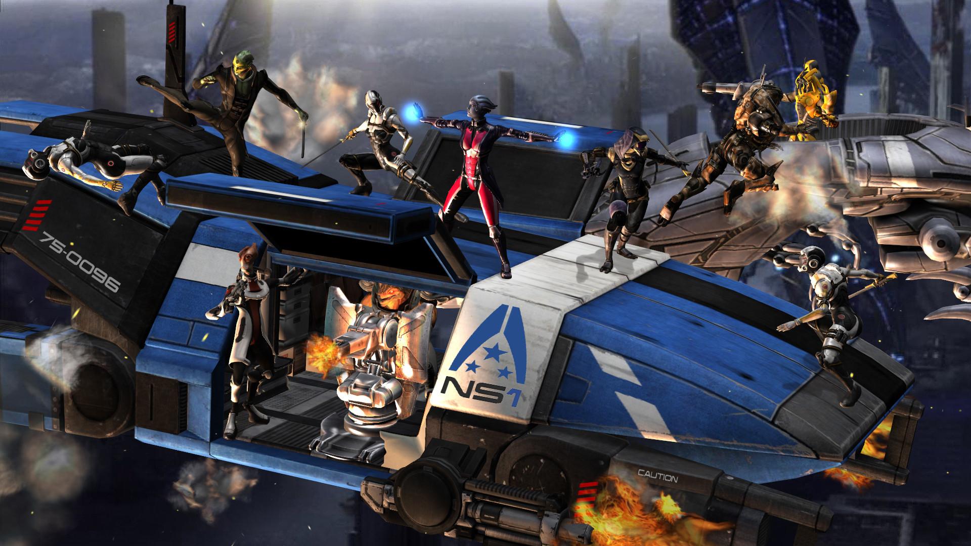 Mass Effect characters Cerberus reapers battle rendering wallpaper |  | 121835 | WallpaperUP