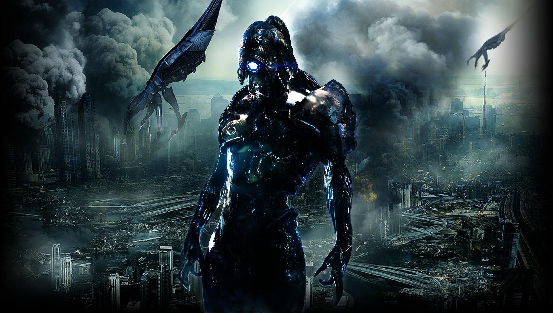 Legion, Mass Effect, Apocalyptic, Reapers, Destruction