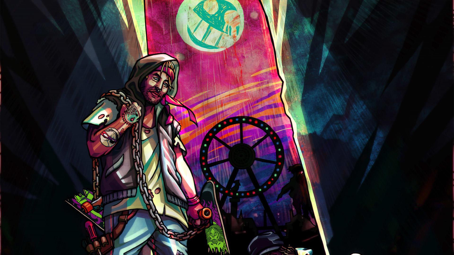 Free Hotline Miami 2: Wrong Number Wallpaper in 1920×1080