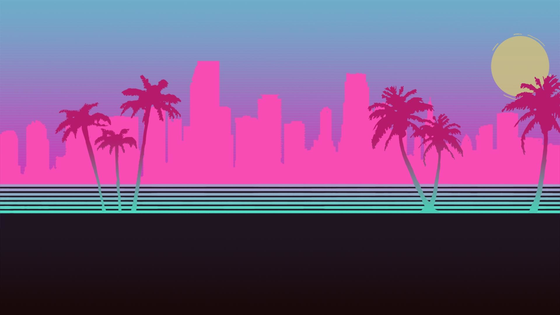 Hotline Miami desktop background (1920×1080)